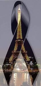 Imagine suonata in strada di fianco al Bataclan a Parigi