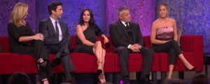 Friends: in onda la reunion fra lacrime e risate