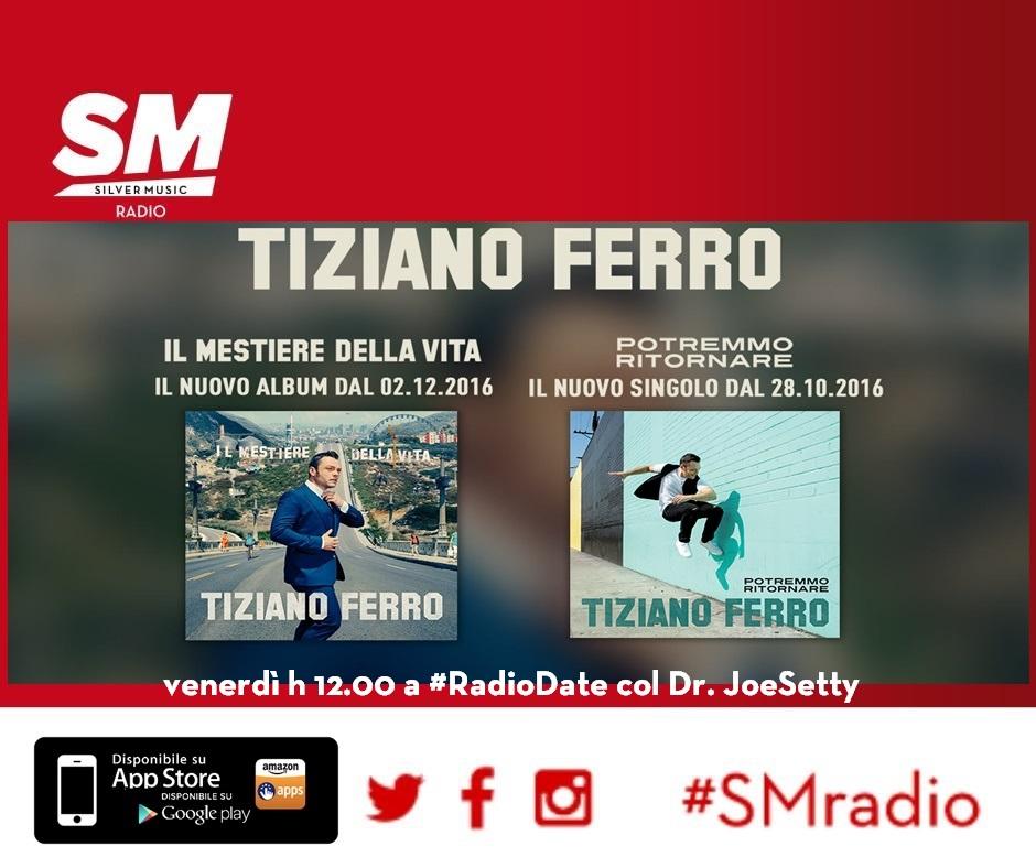 """Tiziano Ferro in radio dal 13 gennaio col secondo singolo """"Il Conforto"""""""