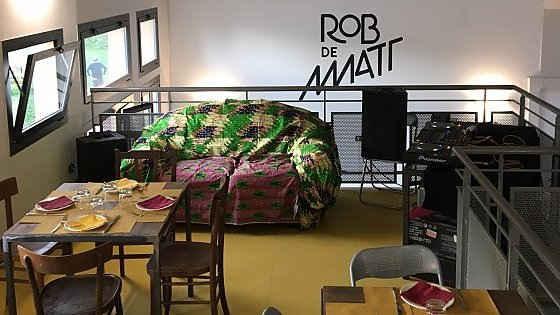 Rob de Matt: il bar-ristorante dove escono dai margini le persone disagiate