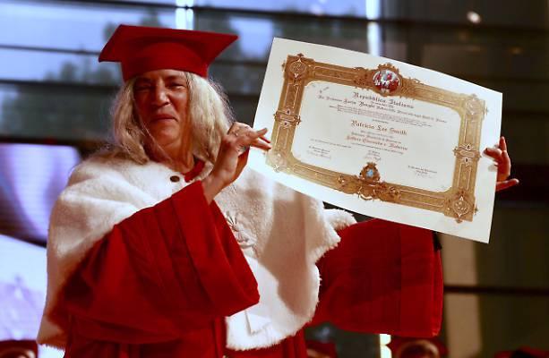 Patti Smith ha ottenuto la laurea magistrale ad honorem Parma