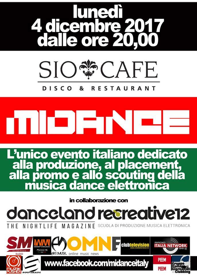 Il 4 dicembre il Midance arriva alla quindicesima edizione, ascoltaci in diretta dalle 21.00
