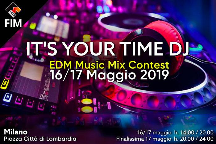 Boom di DJ al FIM di Milano – It's your time, record di