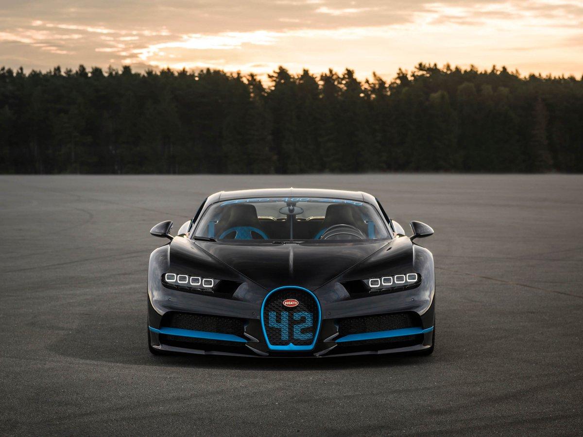 Bugatti Chiron, nuovo record da zero a 400 km/h con al ...